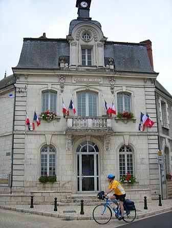 Town Hall in Loire