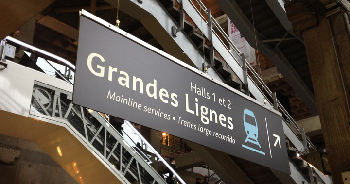 point rencontre gare montparnasse